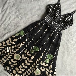 Ted Baker Latifah Silk Floral Feminine Dress